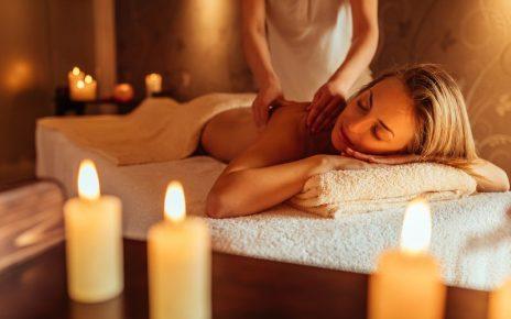 Huile de massage